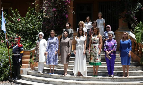 Emine Erdoğan come together with first ladies