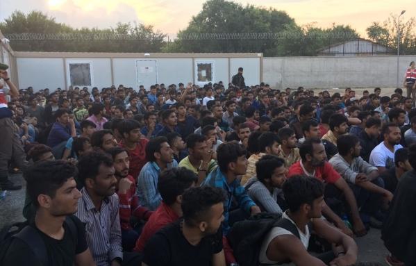50,000 refugees have been captured in 2017 in Edirne