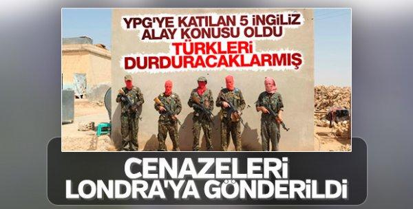 Türkiye düşmanı teröristler YPG'de buluştu