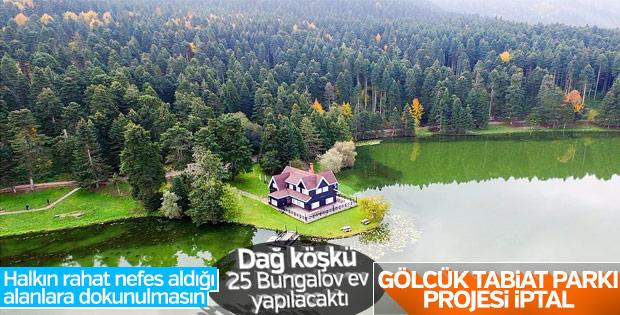 Bakan Eroğlu'ndan Gölcük projesi açıklaması