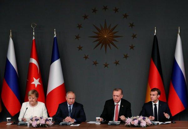 4'lü Suriye Zirvesi sonrası ortak açıklama