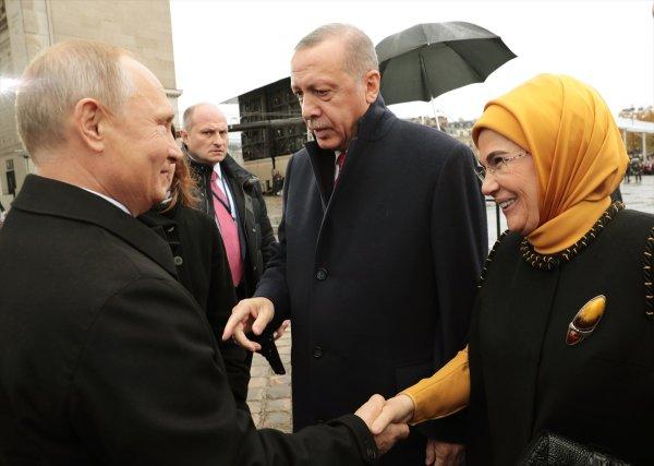 Başkan Erdoğan ile Putin bir araya geldi