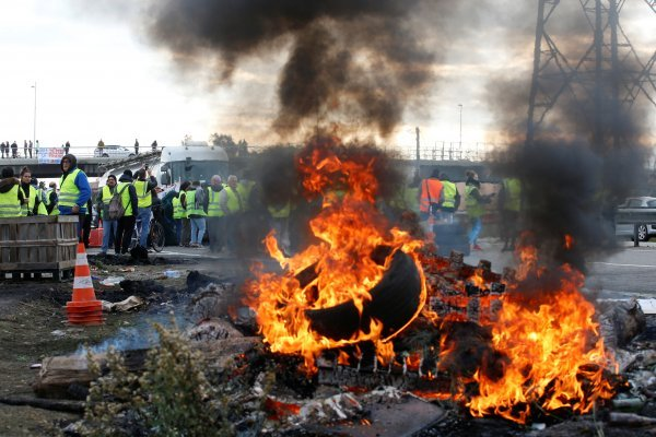 Protests against fuel taxes transform into riot in France