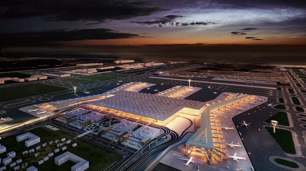 The new 'Istanbul Airport's grand opening