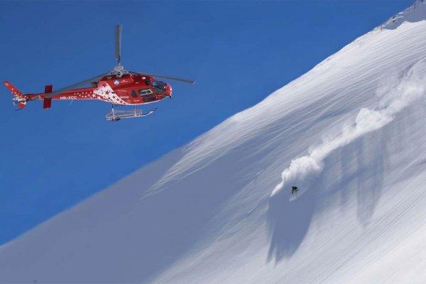 Helikopter kayağı için yeni adres Kaçkar Dağı