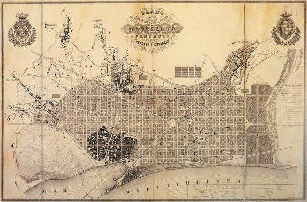 Şehirleşmede çığır açan Barcelona kent planı