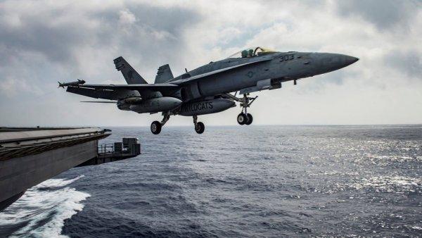 ABD uçaklarıyla Rusya'ya gözdağı verdi