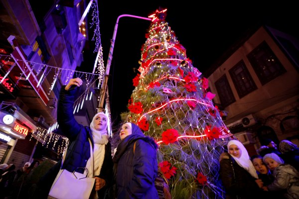 Şam Noel'e hazırlanıyor