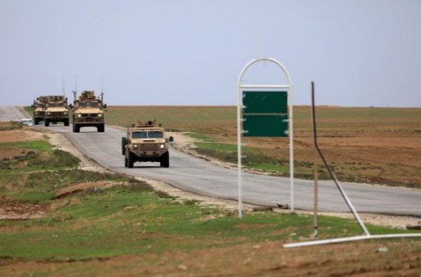 US ground troops withdraw from Syria
