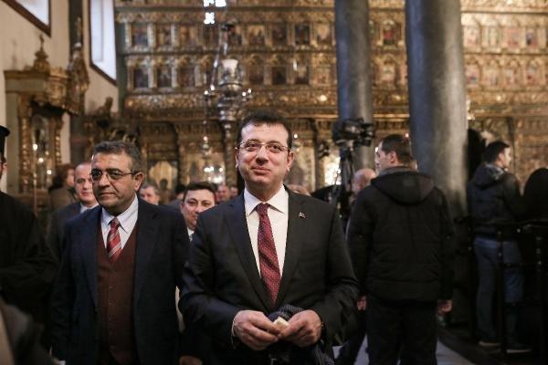 İmamoğlu'ndan dini liderlere Noel ziyareti