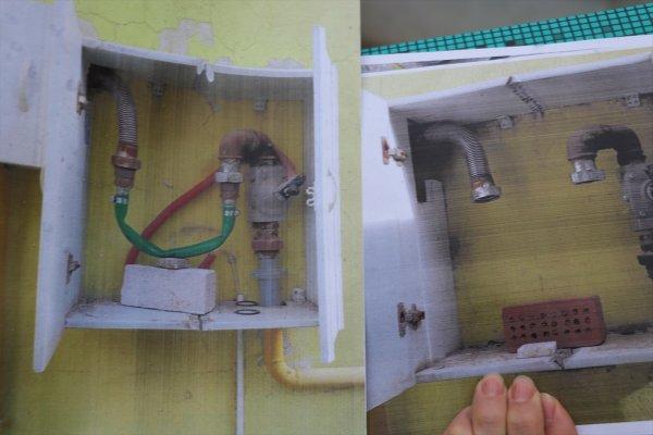 Denizli'de bahçe hortumuyla kaçak doğalgaz kullanımı