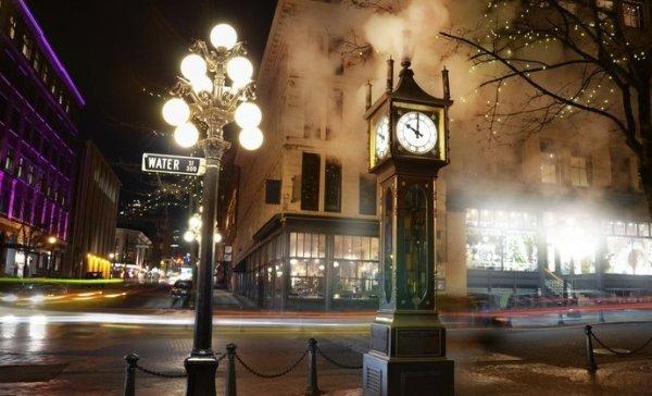Buharlı saatin cazibesiyle Vancouver