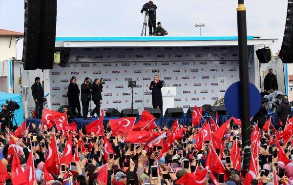 Erdoğan ilk miting için Sivas'ta