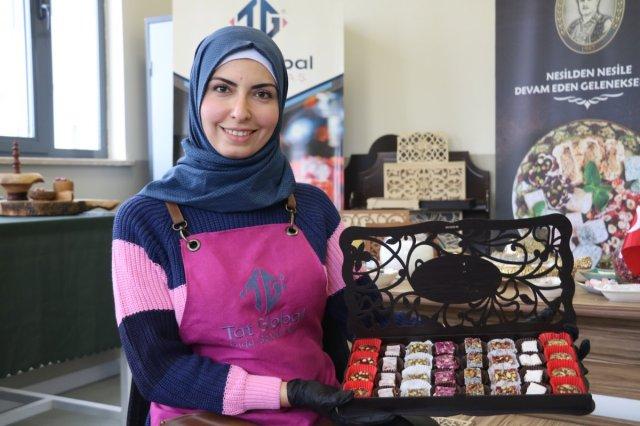 shemma 8147 - Suriyeli Shamma, her şeyini bırakıp geldiği Türkiye'de sanayici oldu