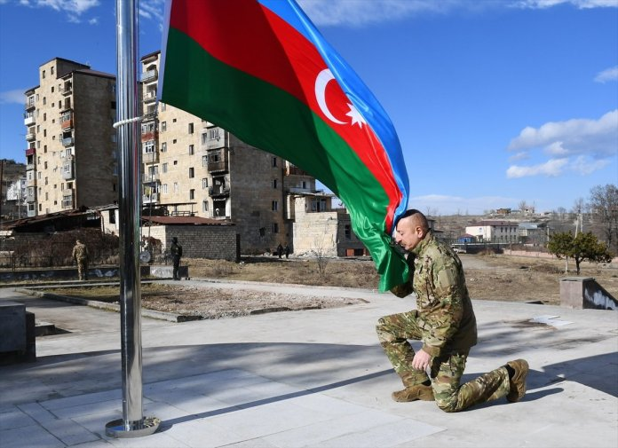 Azerbaycan Cumhurbaşkanı İlham Aliyev, Şuşa yı ziyaret etti #5