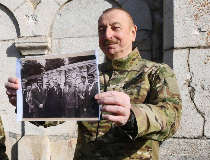 Azerbaycan Cumhurbaşkanı İlham Aliyev, Şuşa yı ziyaret etti #14