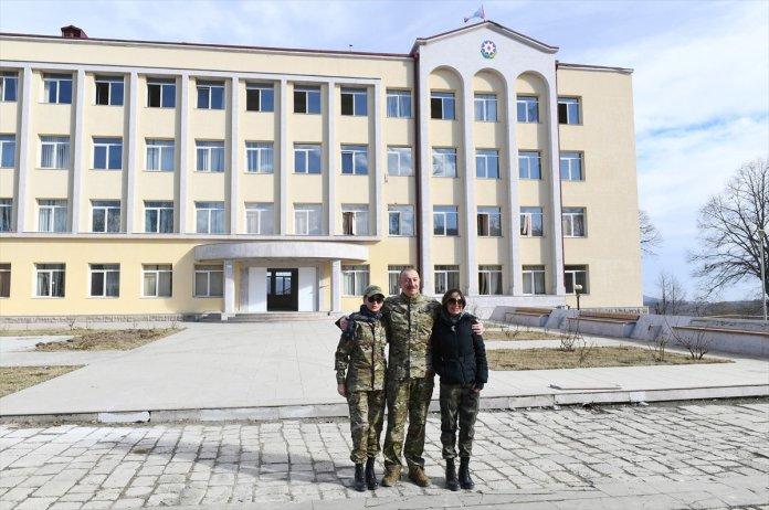 Azerbaycan Cumhurbaşkanı İlham Aliyev, Şuşa yı ziyaret etti #10