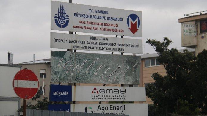 İstanbul da 4 yıldır süren metro inşaatı vatandaşları çileden çıkardı #1