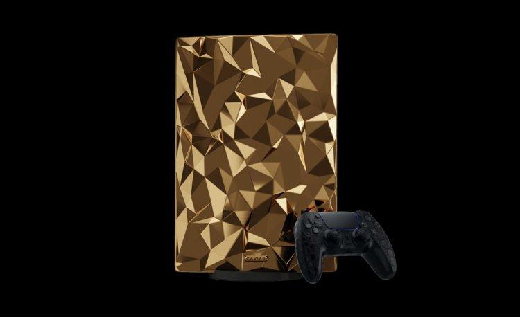 Altın kaplama PlayStation 5 in fiyatı belli oldu #2