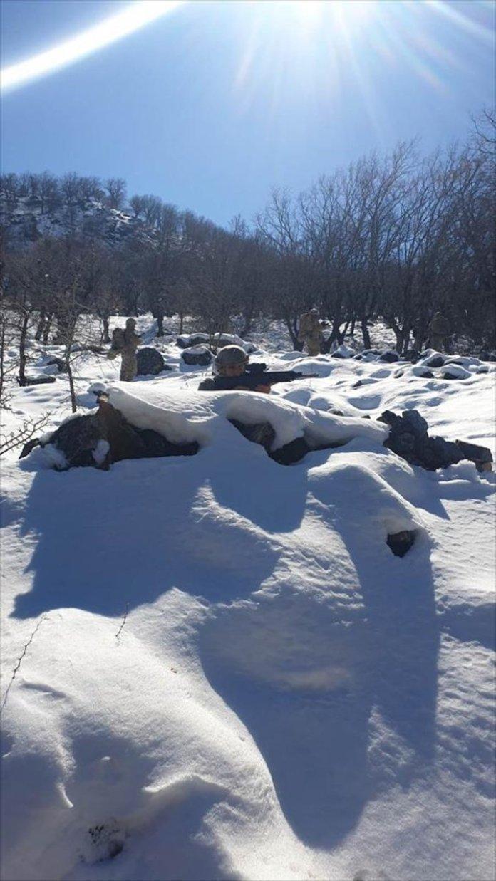 Bitlis ve Siirt te Eren-11 Sehi Ormanları Operasyonu başlatıldı #7