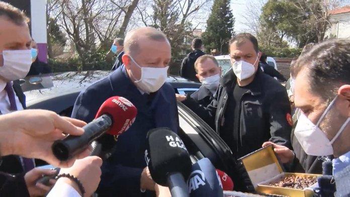 Cumhurbaşkanı Erdoğan için Kısıklı da pasta kesildi #4