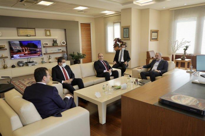 Ekrem İmamoğlu ndan Osman Nuri Kabaktepe ye ziyaret #2