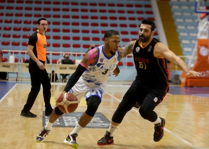 Büyükçekmece Basketbol - Galatasaray maçında olay çıktı #5