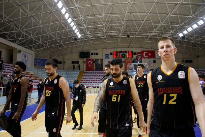 Büyükçekmece Basketbol - Galatasaray maçında olay çıktı #1