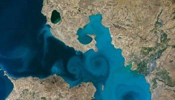 NASA yarışmasında, Van Gölü fotoğrafı yarı finale kaldı #1