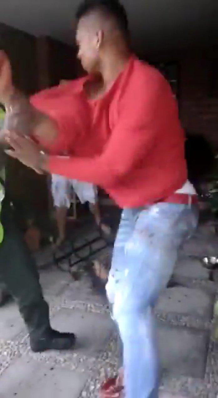 Babasına şiddet uygulayan Fredy Guarin gözaltına alındı #2