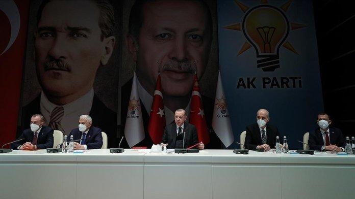 AK Parti de  bildiri  toplantısı #1
