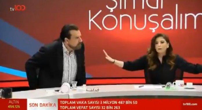Hakan Bayrakçı ve Mücahit Birinci arasında  bildiri  tartışması #1