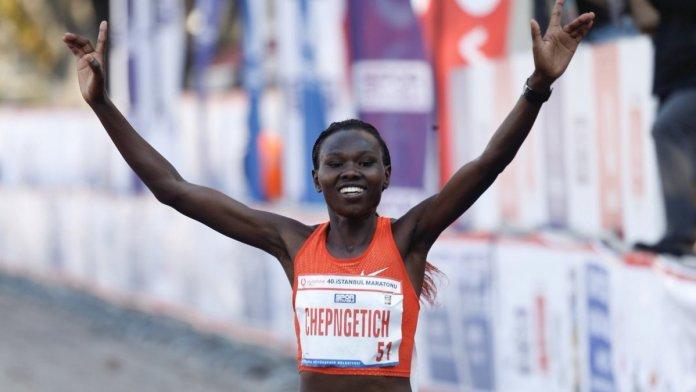 Kenyalı atlet Ruth Chepngetich İstanbul Yarı Maratonu nda rekor kırdı #2