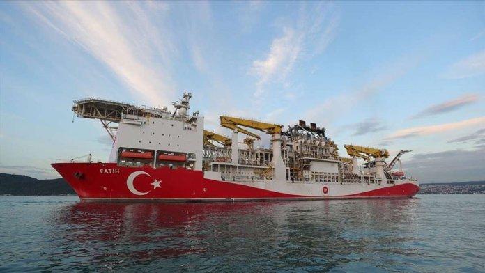 Fatih sondaj gemisi yeni kuyuları araştırmak için açıldı #1