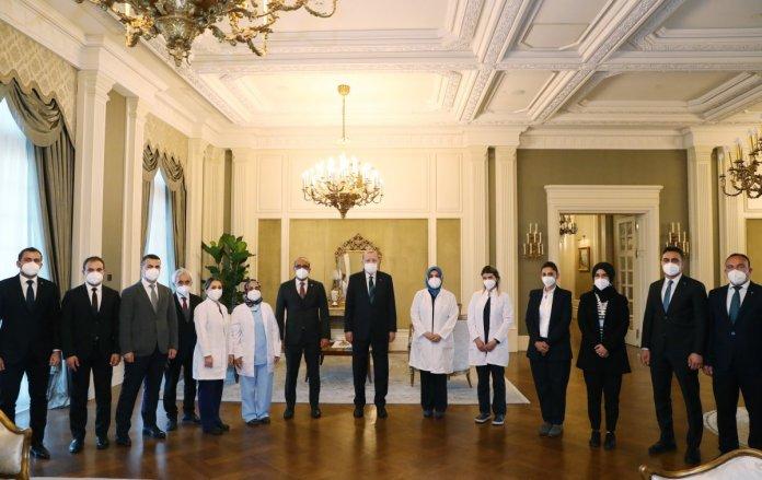 Cumhurbaşkanı Erdoğan dan sağlıkçılara  Dünya Sağlık Günü  kutlaması #2