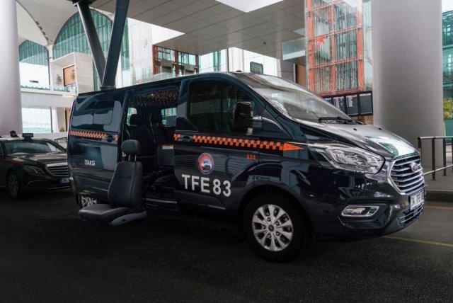 İstanbul Havalimanı'nda engelli yolculara özel taksi uygulaması #1