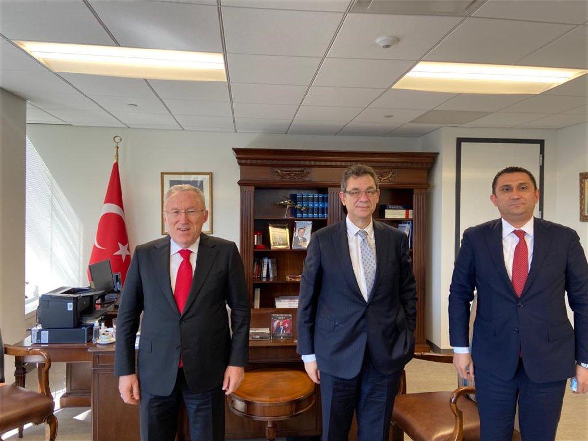 Hasan Murat Mercan, Pfizer ın CEO su Bourla ile görüştü #2