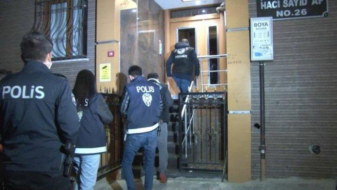 İstanbul merkezli 5 ilde  organize suç örgütü  operasyonu #3