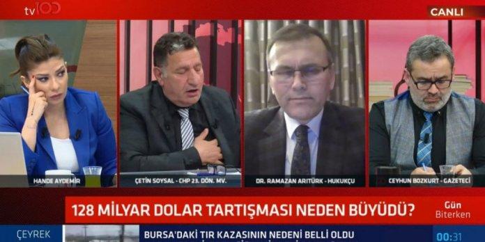 CHP'li eski vekil Çetin Soysal canlı yayında kriz geçirdi #1