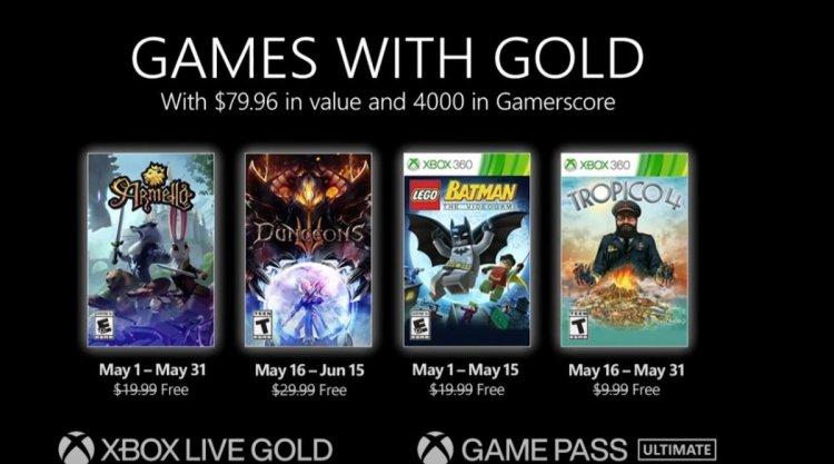 Xbox Live Gold abonelerine mayısta sunulacak ücretsiz oyunlar #1