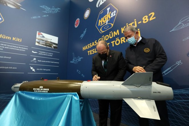 Delivery ceremony for Precision Guidance Kit-82 #3