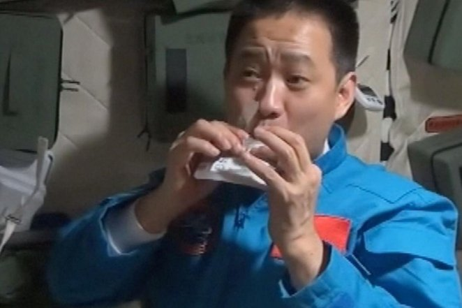 China's first space station has 120 kinds of food #2
