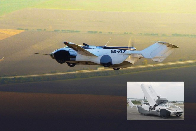 Flying car AirCar passes first flight test #7