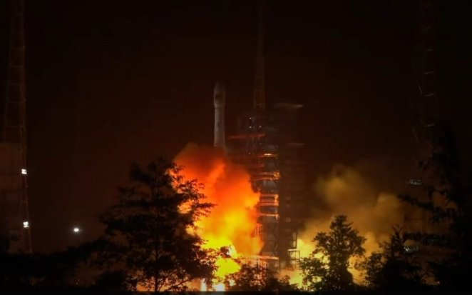 China launches signal transmission satellite #4