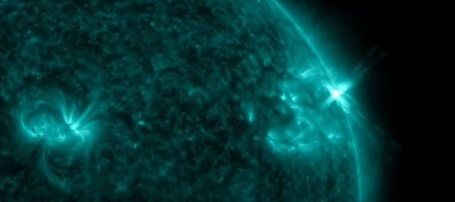 The biggest eruption of recent years has occurred in the sun #2