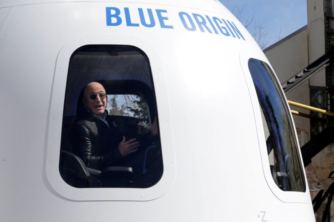 18-year-old Oliver Daemen will accompany Jeff Bezos on his space journey #2
