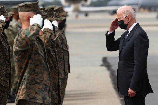 Joe Biden welcomes the funerals of US soldiers who died in Afghanistan #5