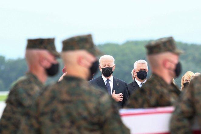 Joe Biden welcomes the funerals of US soldiers who died in Afghanistan #4