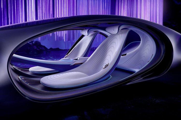 Mercedes, göz hareketi ile araç kontrolü teknolojisini tanıttı #2