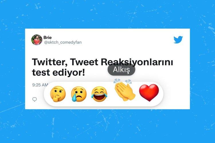 Twitter, emojilerle tepki verme özelliğini ilk Türkiye de test edecek #1